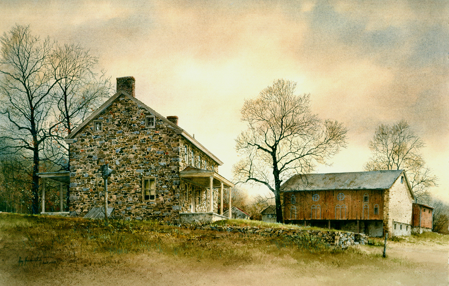 Artist Of The Moment Watercolor Master Ray Hendershot