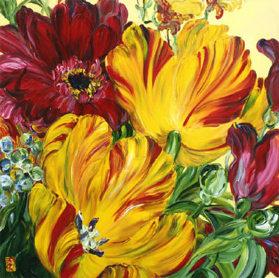Which Artist Painted The Sunflower Series